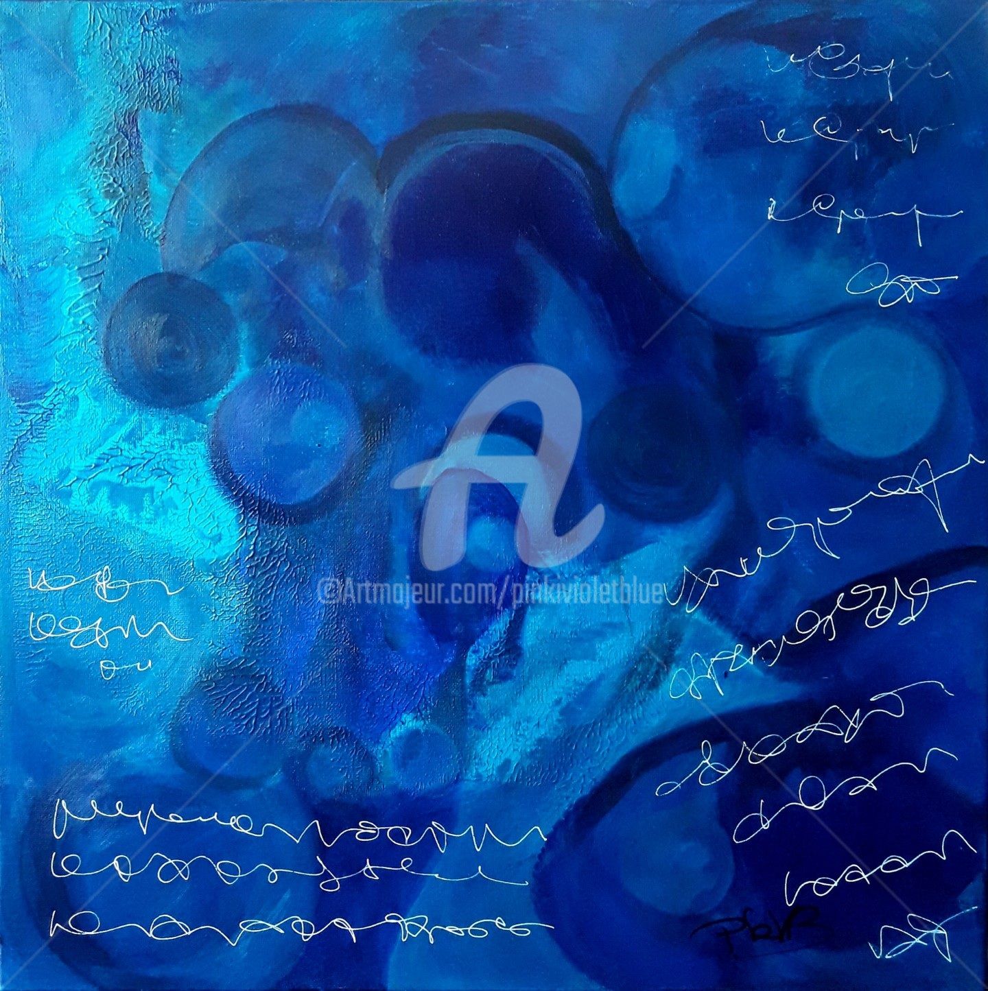 Pinkivioletblue - Circonvolutions bleues 6