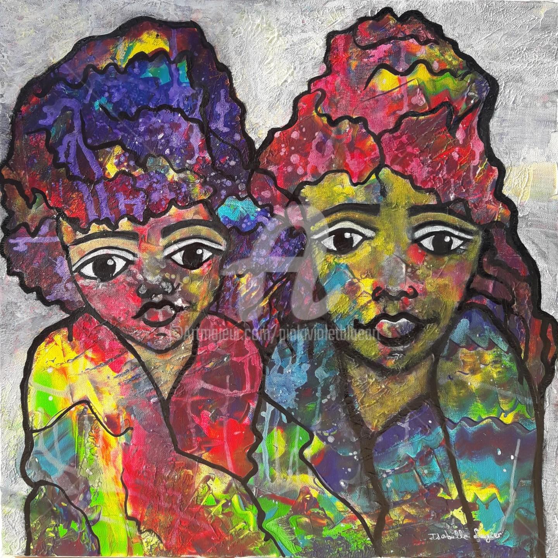 Pinkivioletblue - Les demoiselles sœurs