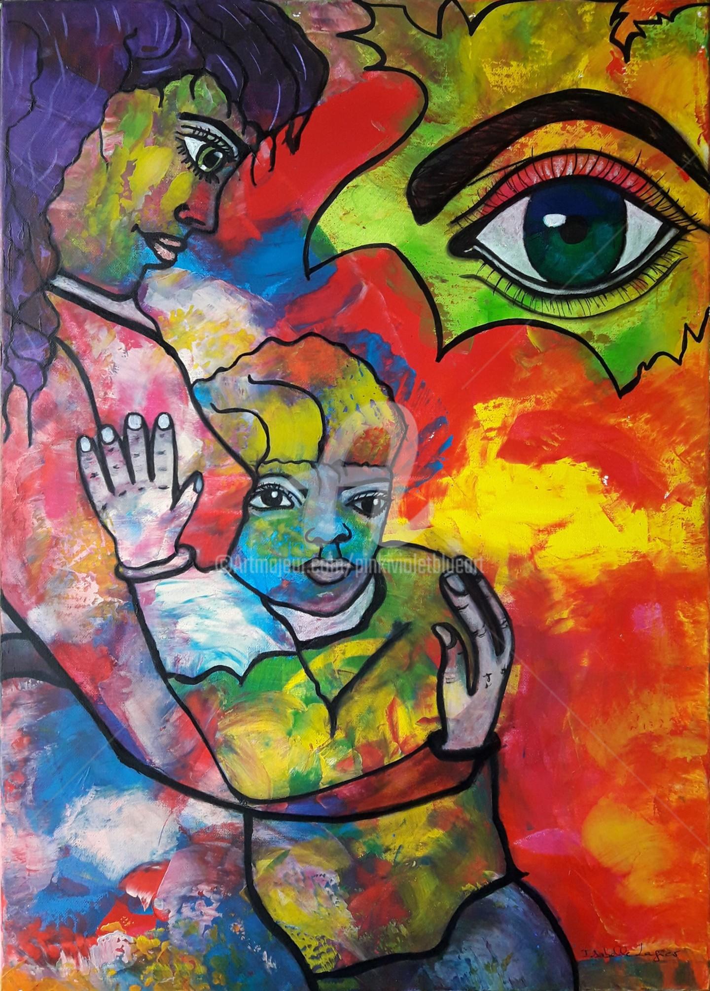 Pinkivioletblue - La demoiselle et l'enfant