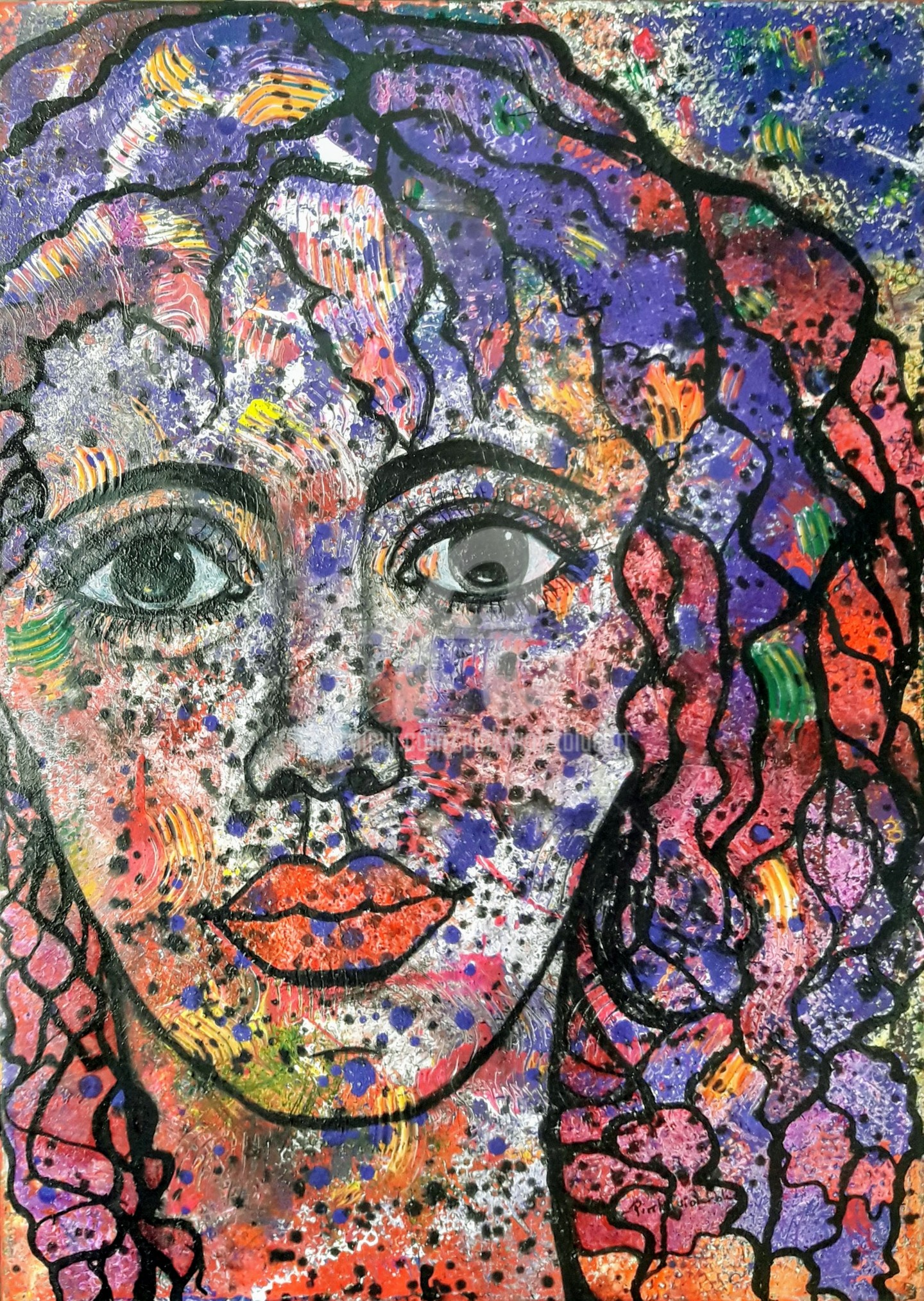 Pinkivioletblue - L'autoportrait du passé