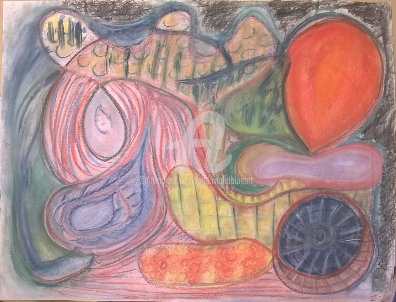 Pinkivioletblue - Le ballon rouge