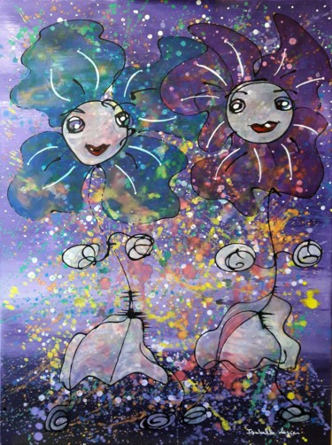 Les deux fleurs de lune