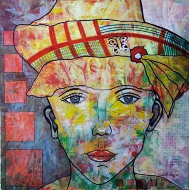 La belle au chapeau antillais
