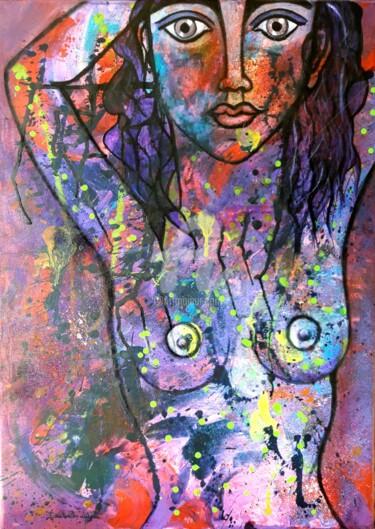La demoiselle topless