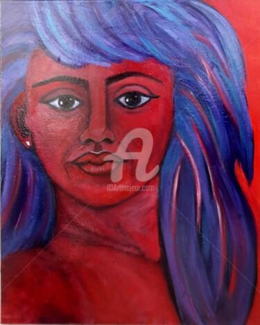 L'autoportrait rouge