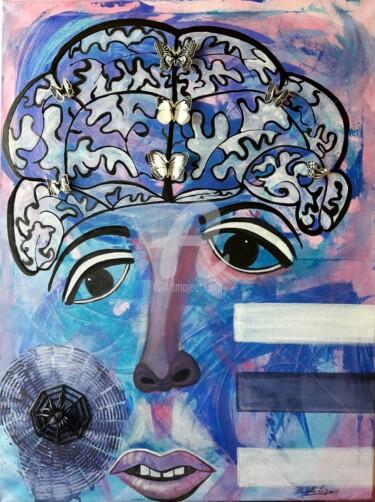 La demoiselle aux papillons dans la tête