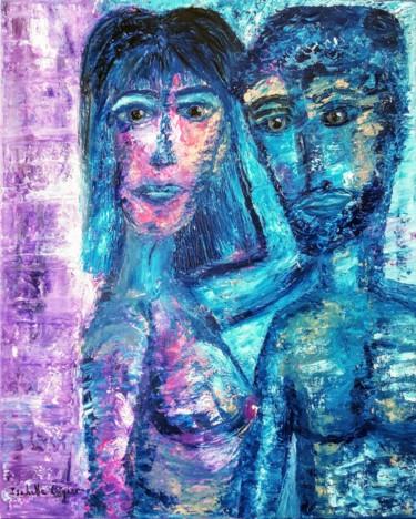 Le couple bleu