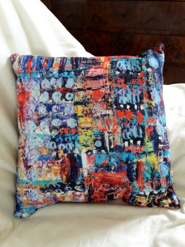 Coussin Paysage imaginaire V